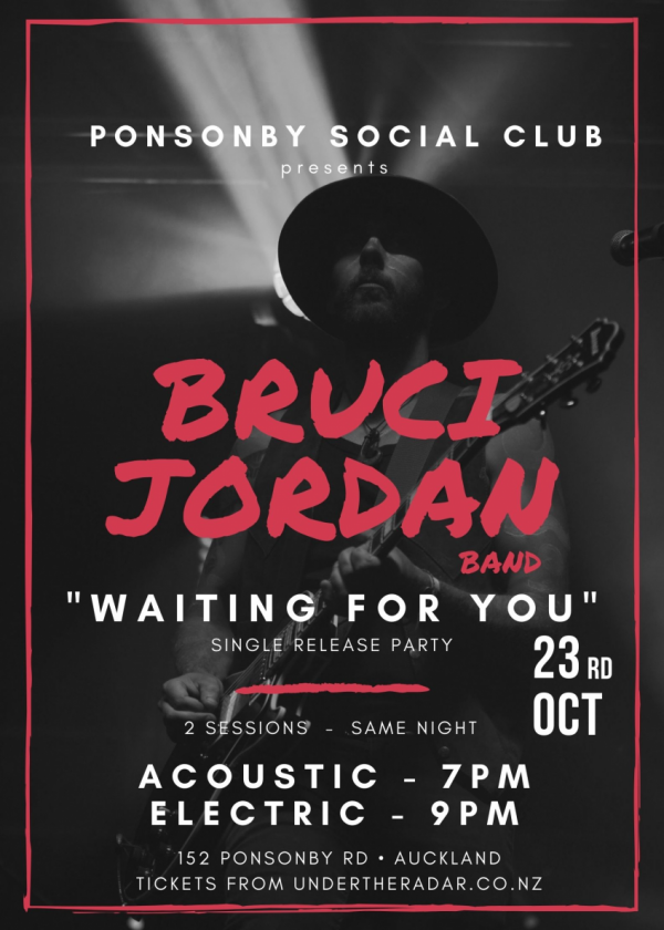 Bruci Jordan - Waiting For You Single Release Party - Accoustic