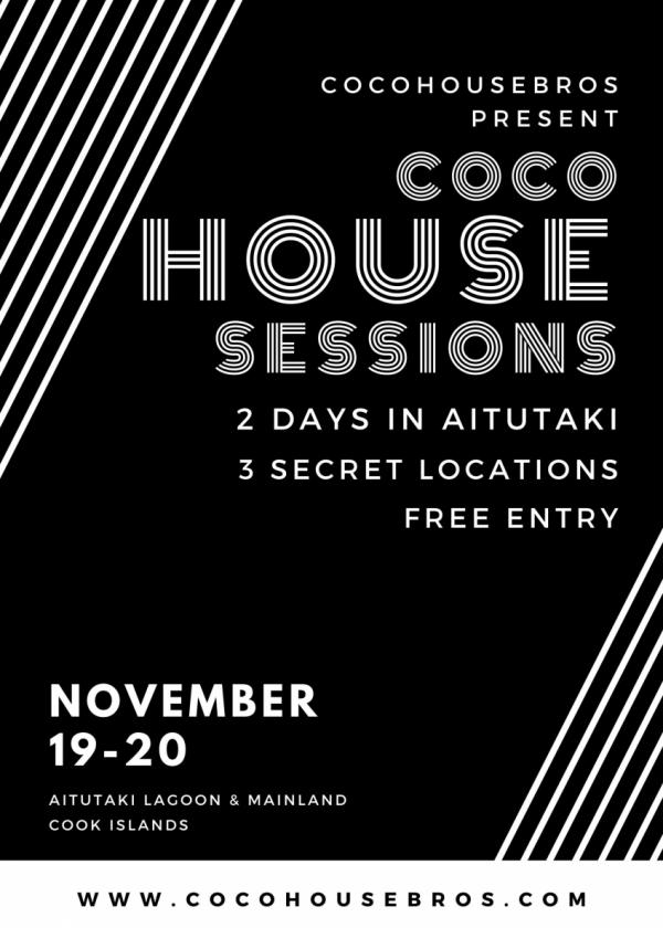 Coco House Sessions - Aitutaki (Mainland Resort)