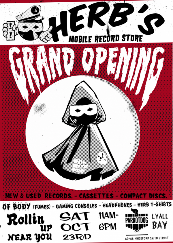 Herb's Mobile Records Grand Opening
