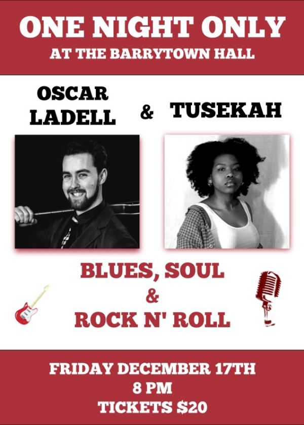 Oscar Ladell And Hoot w/ Tusekah