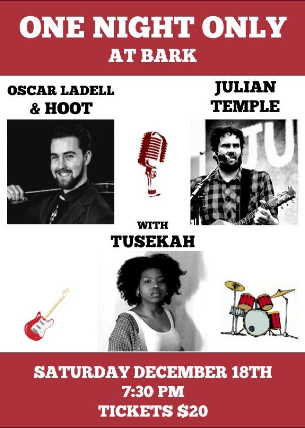 Hoot's Last Hurrah w/ Tusekah and Julian Temple