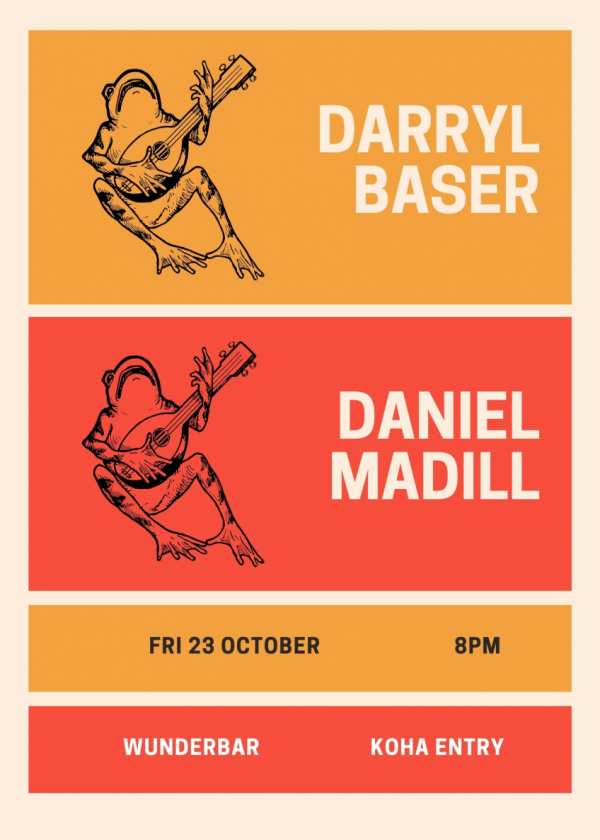 Darryl Baser And Daniel Madill Together And Alone