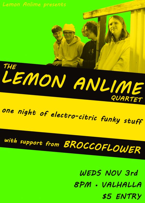 The Lemon Anlime Quartet