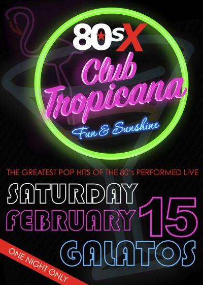 80s X – Club Tropicana