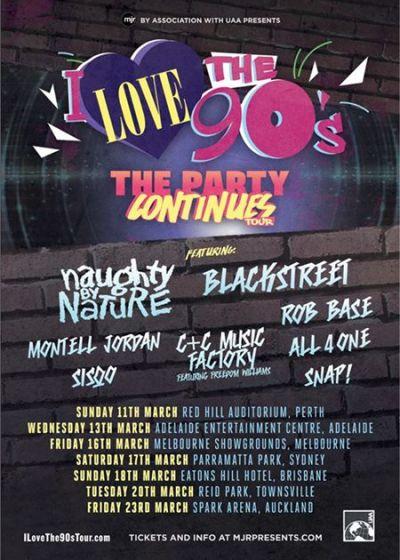 I Love The 90s Tour 2018