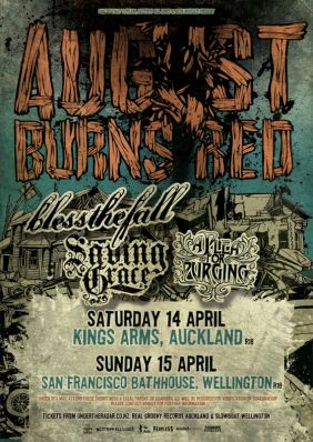 August Burns Red and Bless The Fall