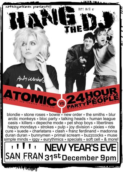 Atomic vs 24 Hour Party People