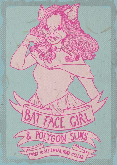 Bat Face Girl, Polygon Suns, Evening is Youth
