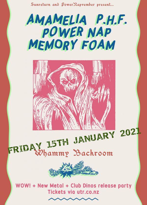 Amamelia / P.H.F. / Power Nap / Memory Foam