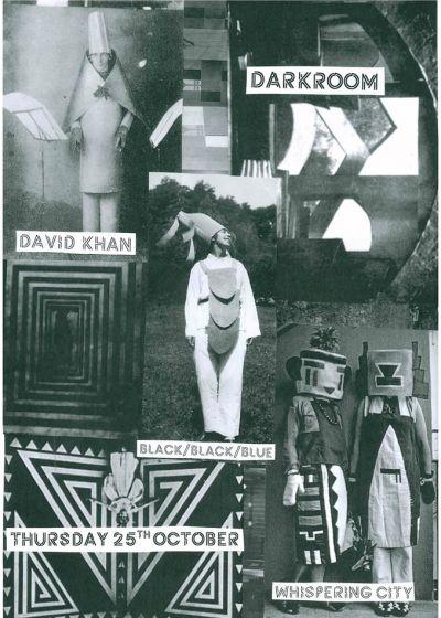 David Khan, black/black/blue, Whispering City
