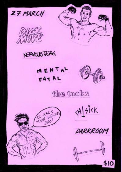 Dick Move, Nervous Jerk, Mental Fatal - Cancelled