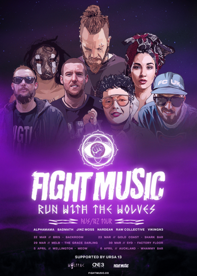 Fight Music - Run With the Wolves