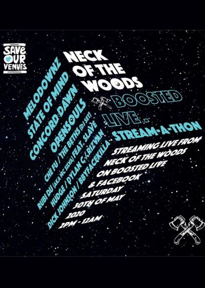 Neck Of The Woods - Stream-A-Thon