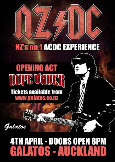 NZDC- The AC/DC Experience - Cancelled