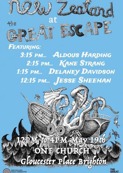 Great Escape Festival - NZ Showcase
