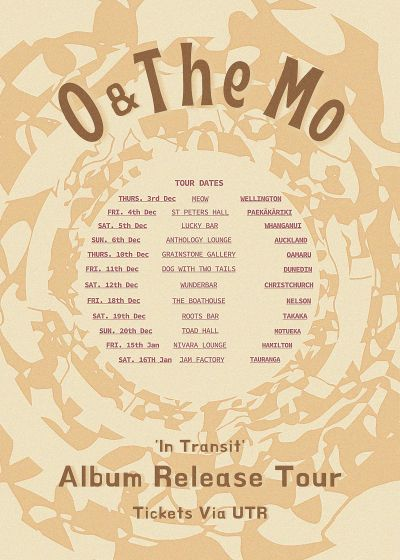 O & The Mo - In Transit Tour