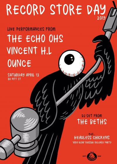 RSD at Flying Out - Ounce, The Echo Ohs, Vincent H.L, The Beths (DJ Set)