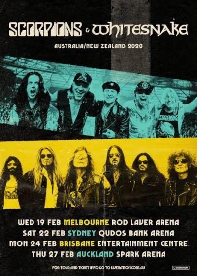 Scorpions, Whitesnake
