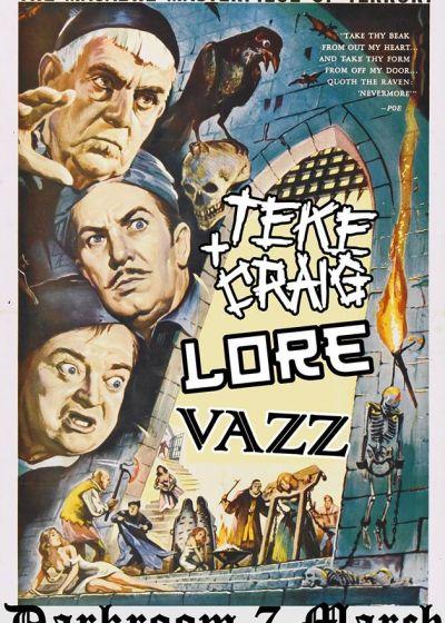 Teke + Craig, Lore, Vazz