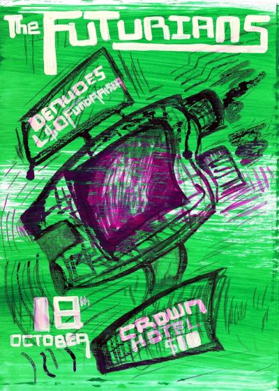 The Futurians, LSD Fundraiser, Denudes