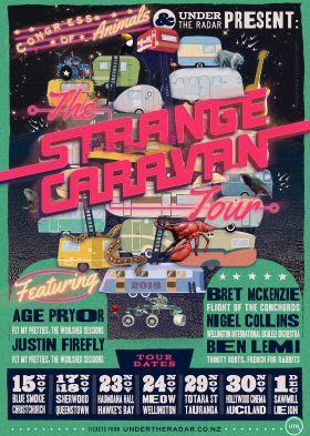 Congress of Animals - Strange Caravan Tour - Captain Cook , Dunedin