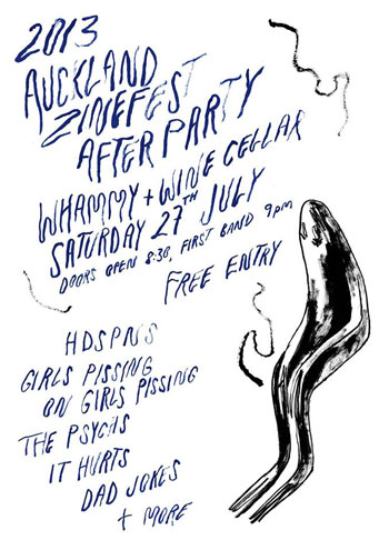 Auckland Zinefest Afterparty