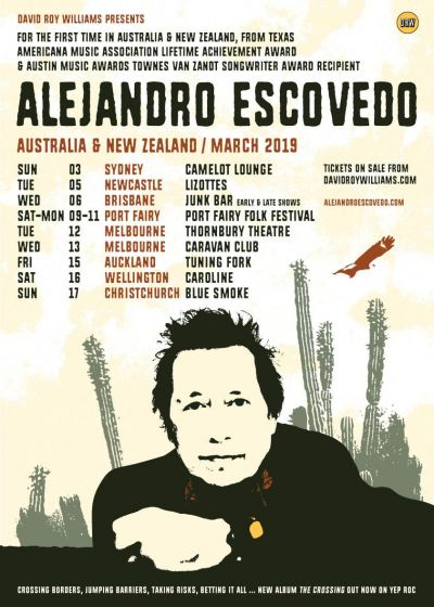 Alejandro Escovedo - Cancelled