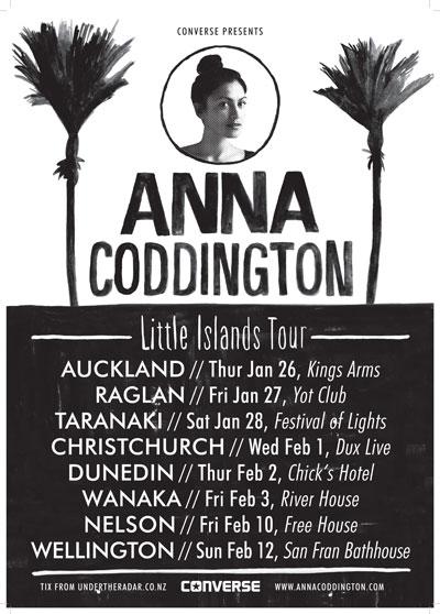 Anna Coddington Little Islands Tour