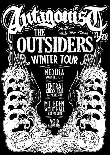 Antagonist A.D Winter Tour