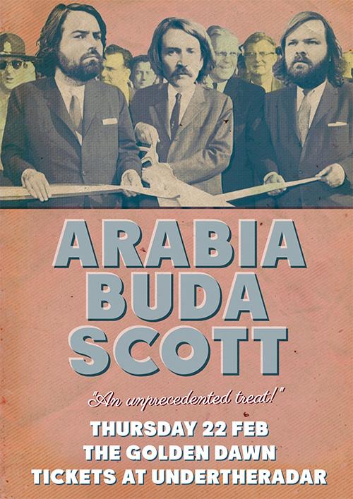 Arabia, Buda, Scott