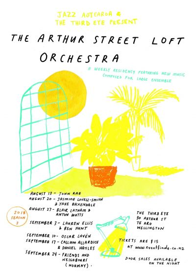 Arthur Street Loft Orchestra - Blair Latham, Anton Wutts and The Halftime Oranges