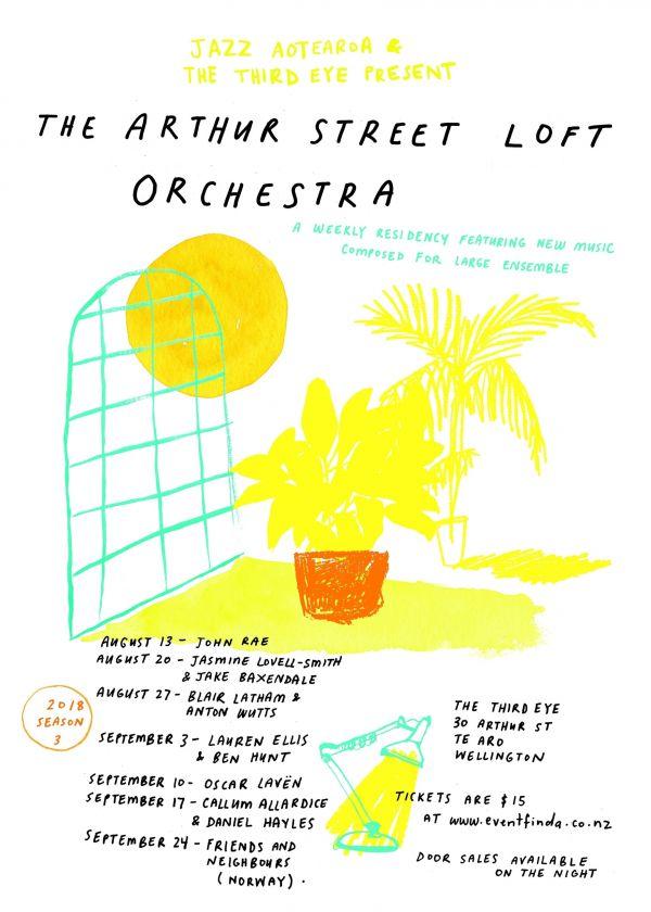 Arthur Street Loft Orchestra - Lauren Ellis and Ben Hunt