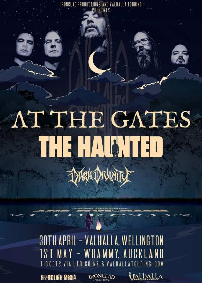 At the Gates and The Haunted - Swedish Slaughter NZ Tour