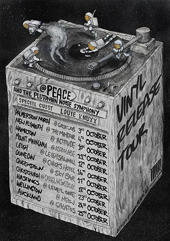 @Peace and The Plutonian Noise Symphony -  Vinyl Release Tour