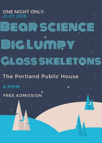 Bear Science, Glass Skeletons, Big Lumpy