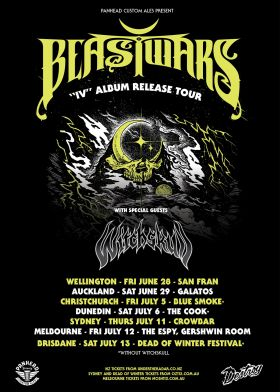 Beastwars IV -  Album Release Tour