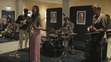 Caught Live: Being. Play 'Count Me In' At 95bFM's Drive Island