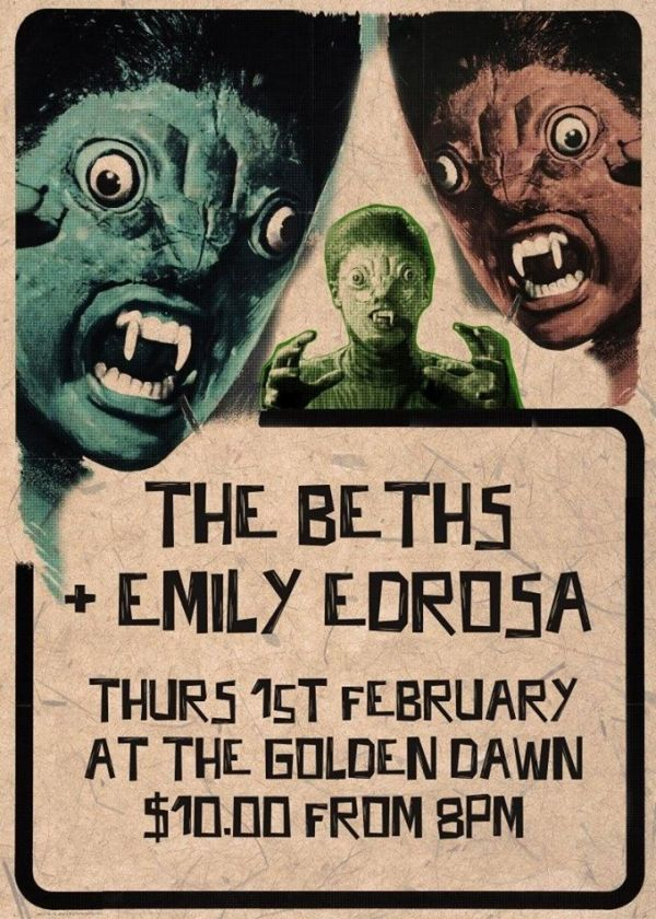The Beths and Emily Edrosa
