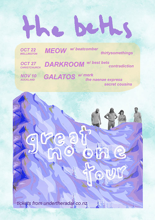 The Beths - Great No One Tour