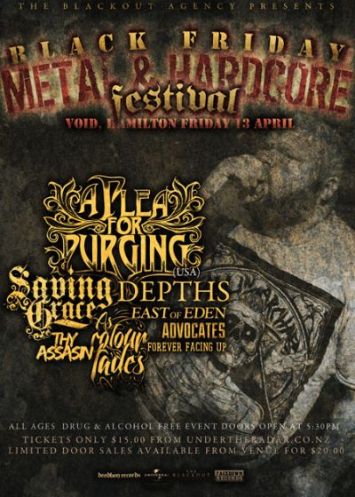 Black Friday Metal and Hardcore Festival