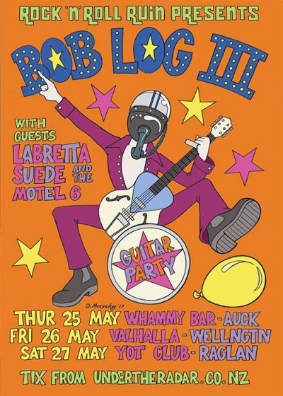 Bob Log III New Zealand Tour