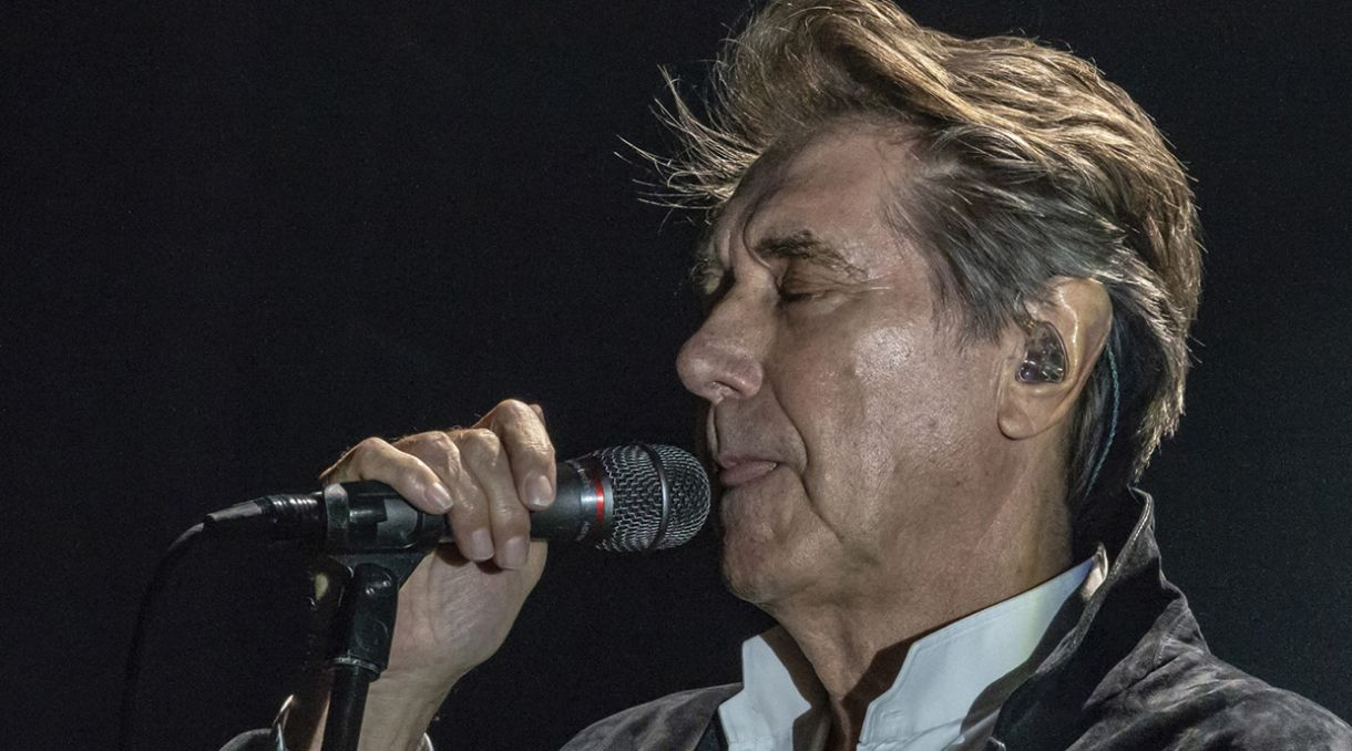 Live Photos: Bryan Ferry – TSB Arena, Wellington