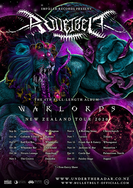 Bulletbelt - Warlords NZ Tour