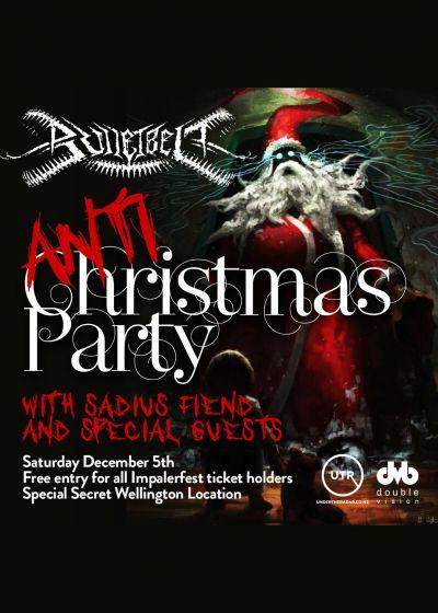 Bulletbelt Anti Christmas party
