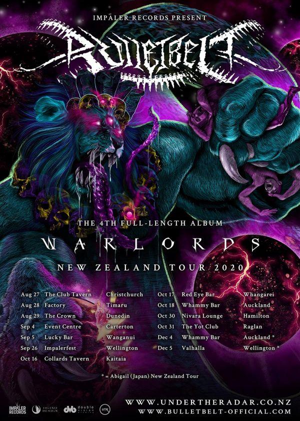 Bulletbelt - Warlords NZ Tour