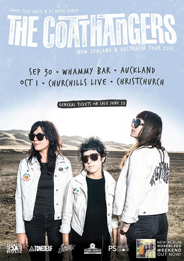 The Coathangers - Nosebleed Weekend Tour