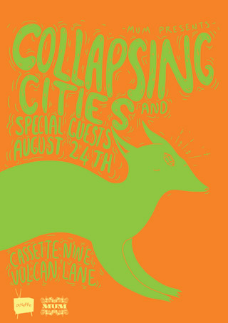 MUM Presents: Collapsing Cities, Poor You Poor Me and Special Guests