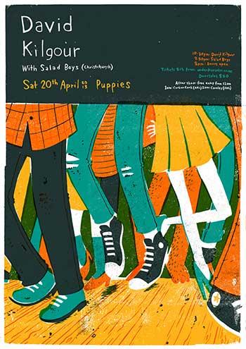 David Kilgour + Salad Boys