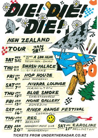 Die! Die! Die! Summer Tour