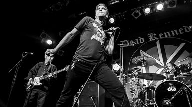 Live Photos: Dead Kennedys, The Dicks, Nuggiez - The Powerstation, Auckland